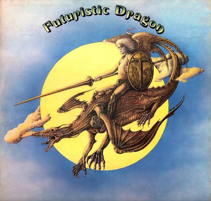 T. Rex – Futuristic Dragon album art