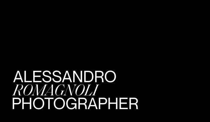 Alessandro Romagnoli portfolio website 1