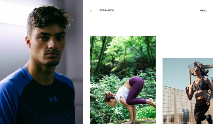 Alessandro Romagnoli portfolio website 2