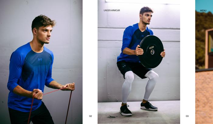 Alessandro Romagnoli portfolio website 5