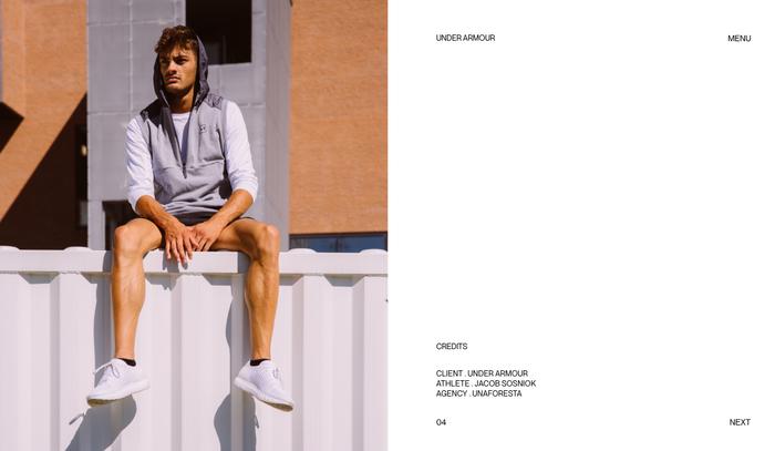 Alessandro Romagnoli portfolio website 6