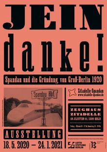 <cite>Jein danke!</cite> exhibition posters