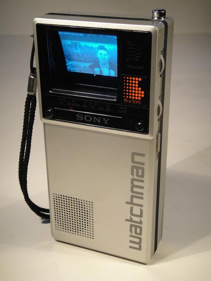 Sony Watchman FD-20A, 1983.