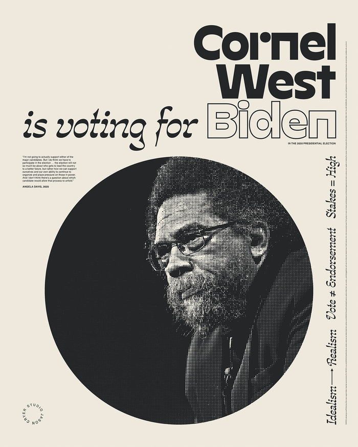 """______ is voting for Biden"" posters 3"