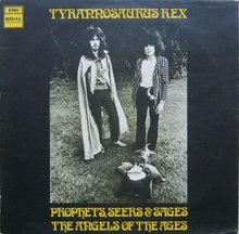 Tyrannosaurus Rex ‎ – <cite>Prophets, Seers &amp; Sages: The Angels Of The Ages</cite> album art