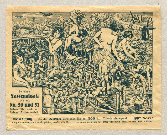 Edion-Eduard Müller advertising letter 2