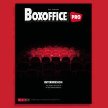 <cite>Boxoffice Pro</cite> magazine redesign