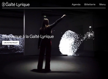 Gaîté Lyrique website