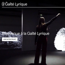 La Gaîté Lyrique website