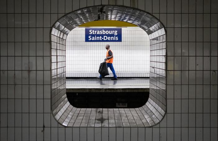 Strasbourg Saint-Denis station, July 2019.
