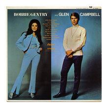 <cite>Bobbie Gentry and Glen Campbell</cite> (Capitol Records) album art