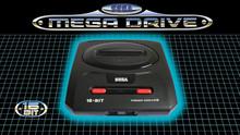 Sega Mega Drive logo (for international branding outside North America)