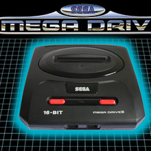 Sega Mega Drive logo (for international branding outside North America)