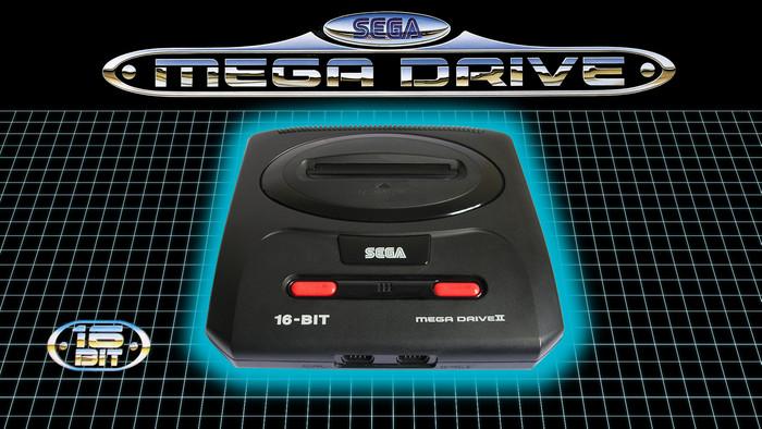 16-bit Mega Drive box.