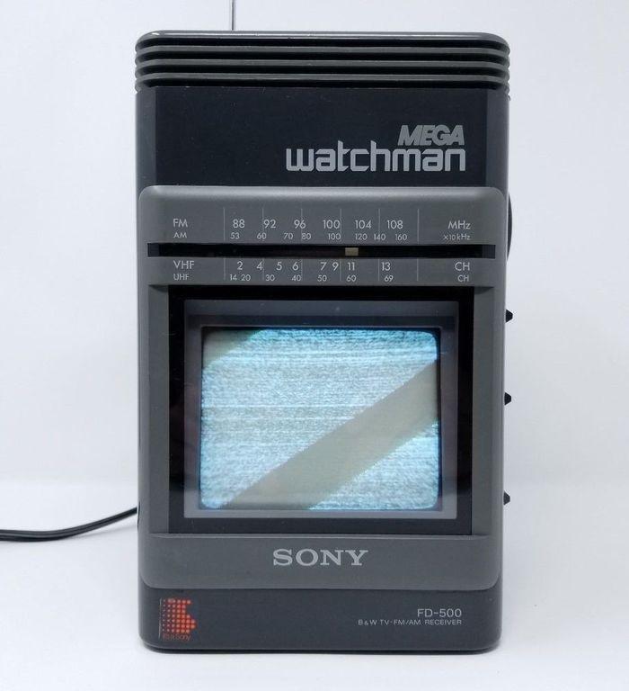 Mega Watchman FD-500, 1988.