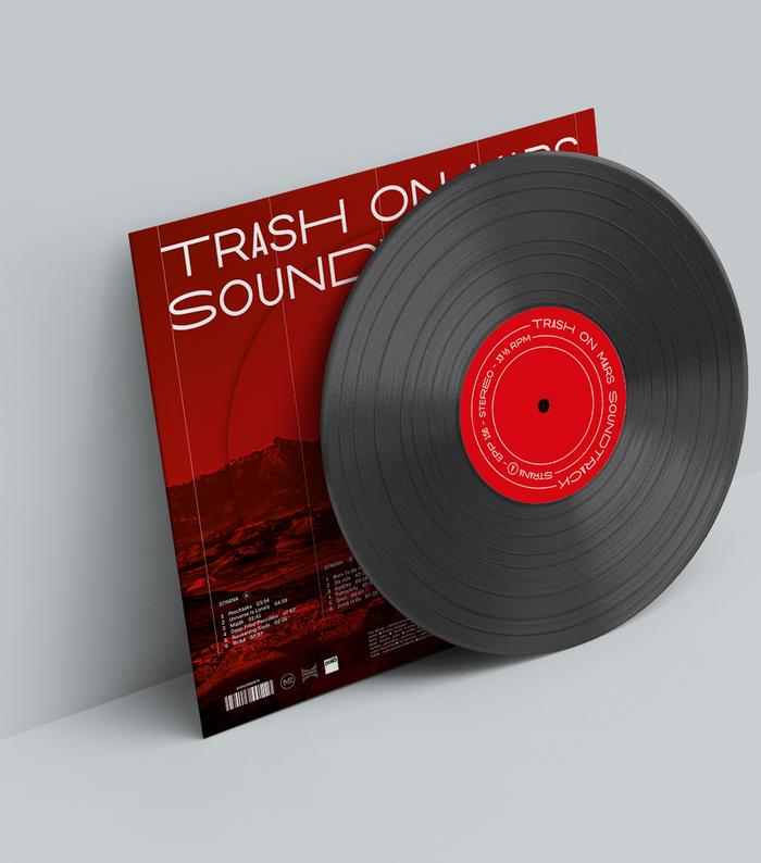 Trash On Mars Soundtrack album art 2