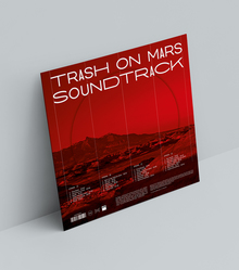 <cite>Trash On Mars Soundtrack</cite> album art