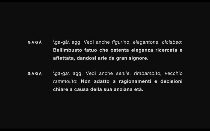 Gagà short film 2
