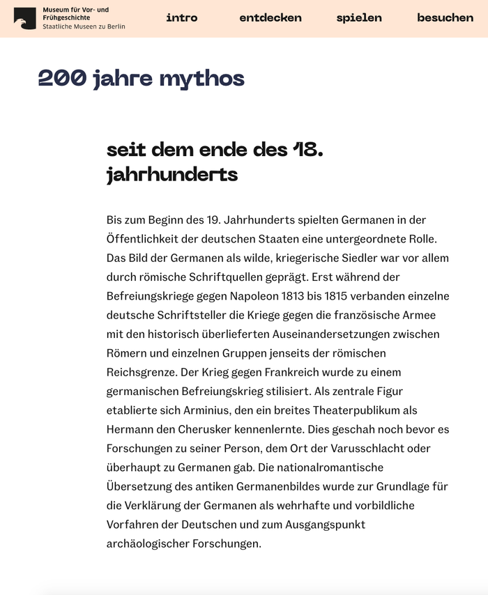 The website pairs all-lowercase Neue Machine for the menu and headlines with text set in .