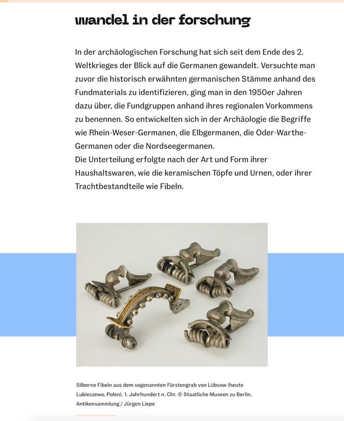 Germanen exhibition at James-Simon-Galerie, Berlin 7