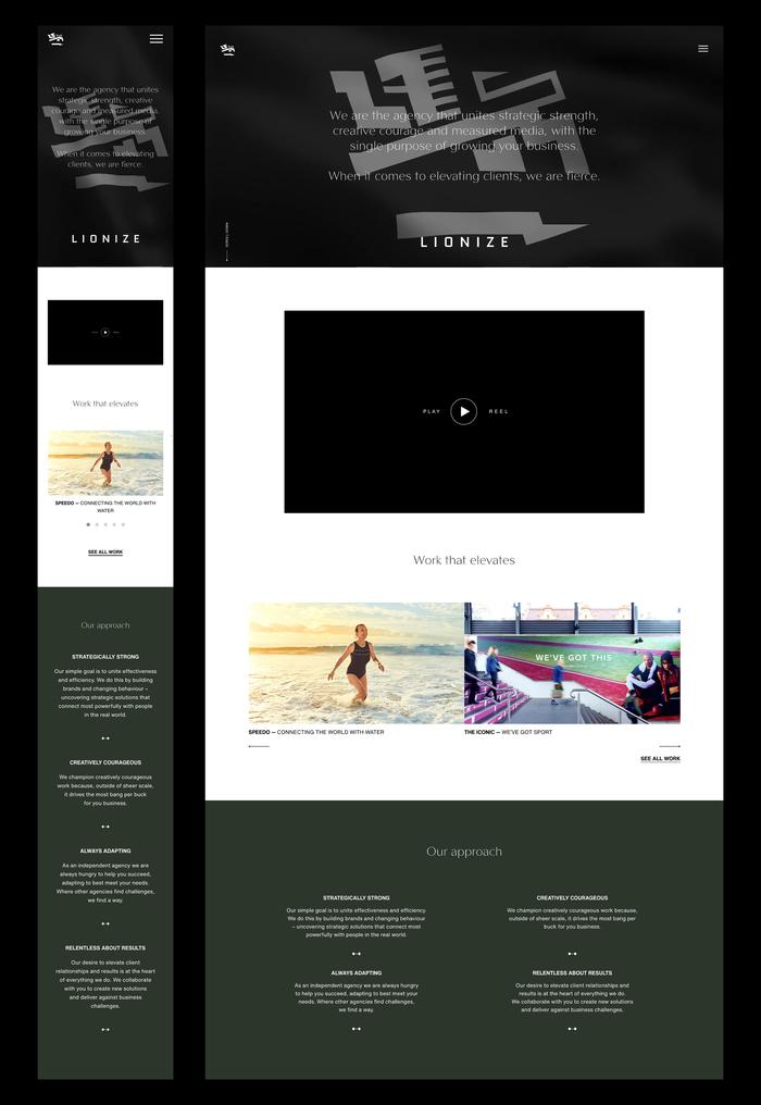Agency homepage