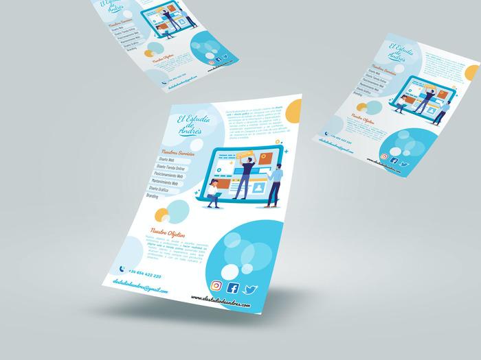 El Estudio de Andrés promotional flyer 3