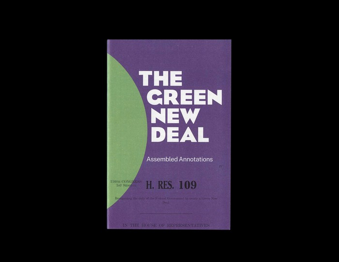 The Green New Deal: A Public Assembly 3