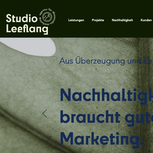 Studio Leeflang website