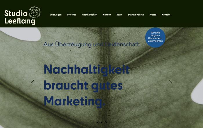 Studio Leeflang website 1