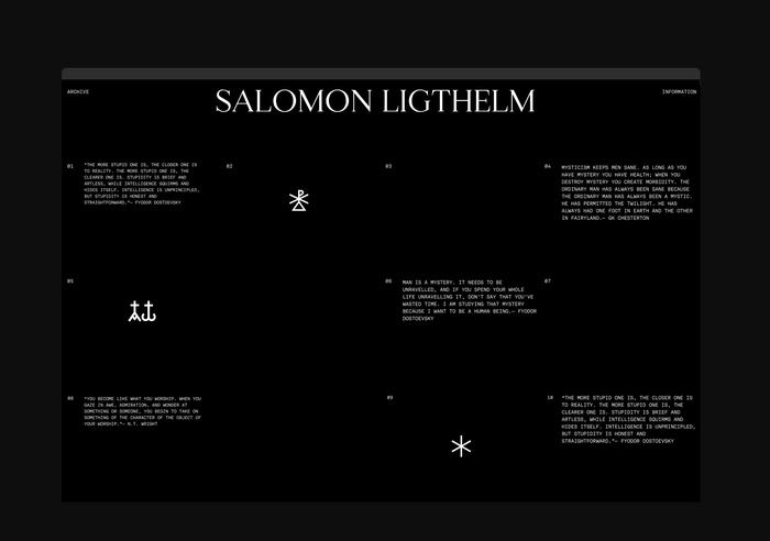 Salomon Ligthelm portfolio 5