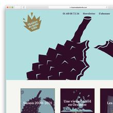 Théâtre de Belleville website