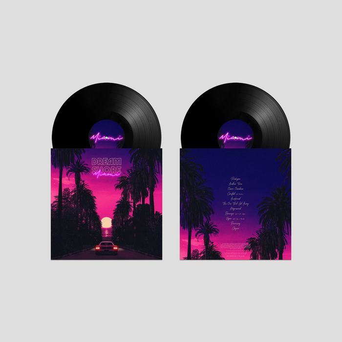 Dream Shore – Miami album art 3