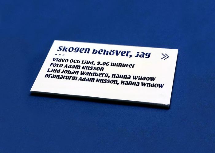 Caption card