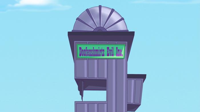 Doofenshmirtz Evil Inc. in Phineas and Ferb 1
