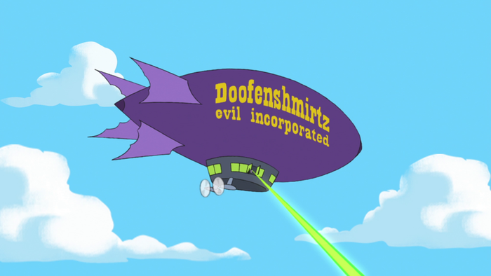 Doofenshmirtz Evil Inc. in Phineas and Ferb 4