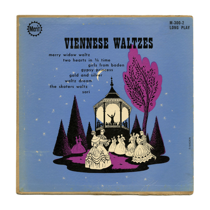 Viennese Waltzes (Merit) album art