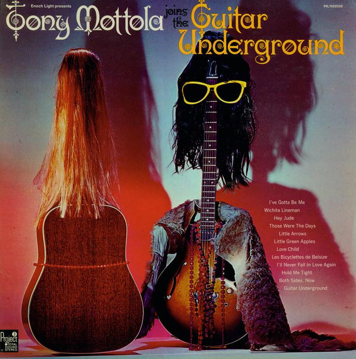 Tony Mottola Joins The Guitar Underground album art