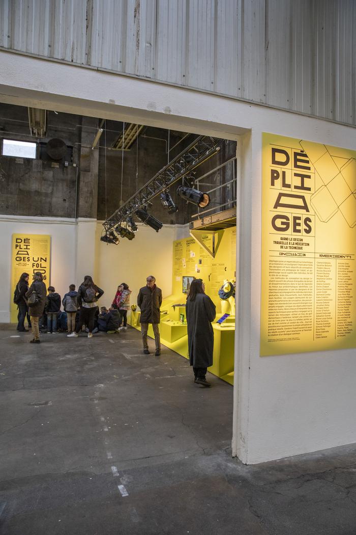 Dépliages (Unfolding) exhibition 3