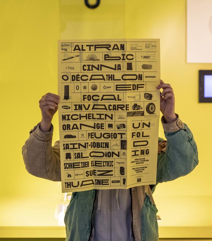 Dépliages (Unfolding) exhibition 2