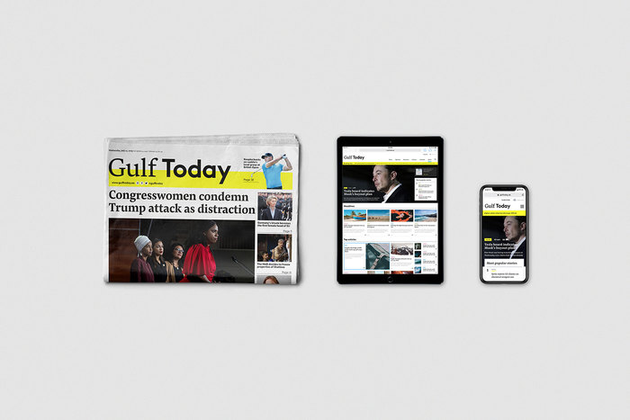Gulf Today newspaper redesign 7
