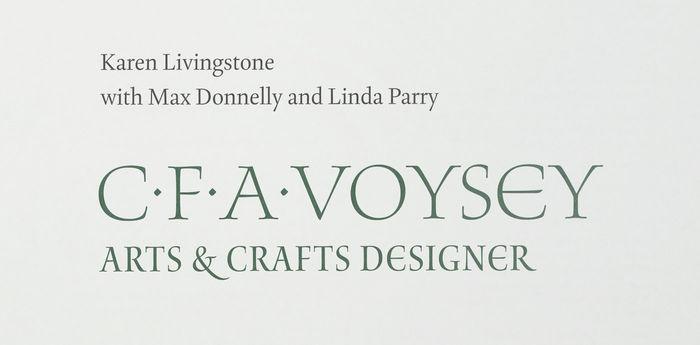 CFA Voysey · Arts & Crafts Designer 2