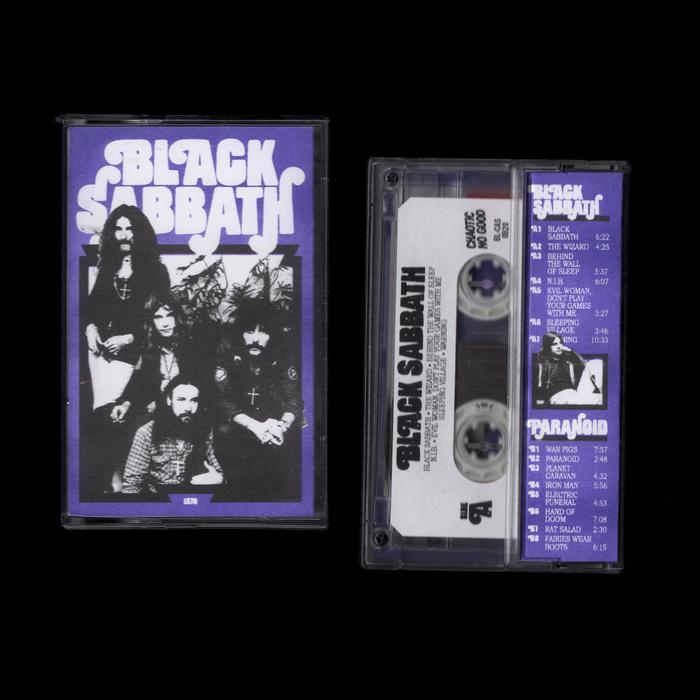 Black Sabbath bootleg cassette 1
