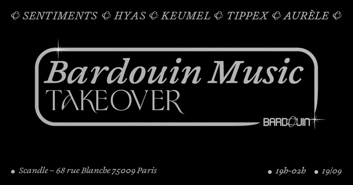 Bardouin Music Takeover at Scandle 1