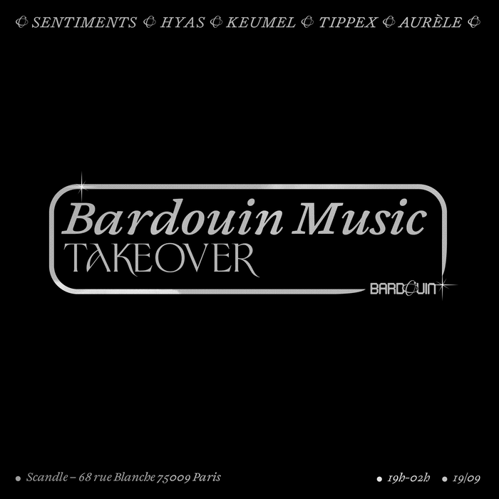 Bardouin Music Takeover at Scandle 2