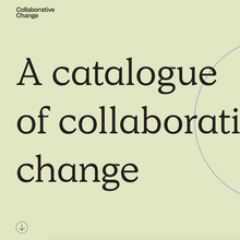 Collaborative Change website