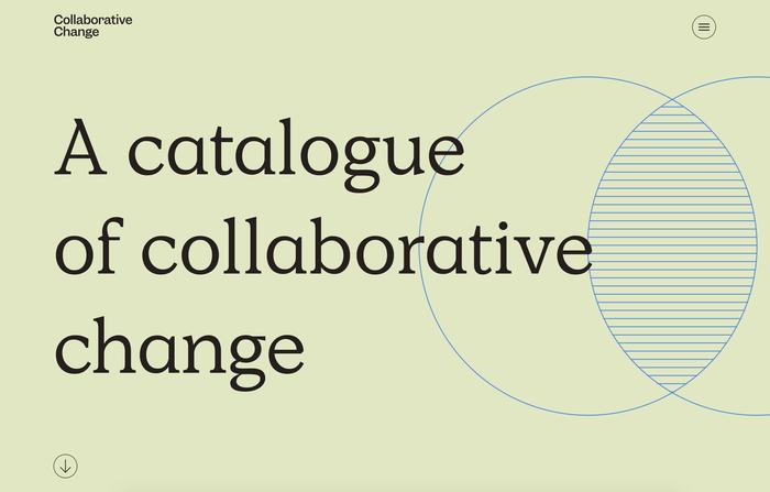 Collaborative Change website 1