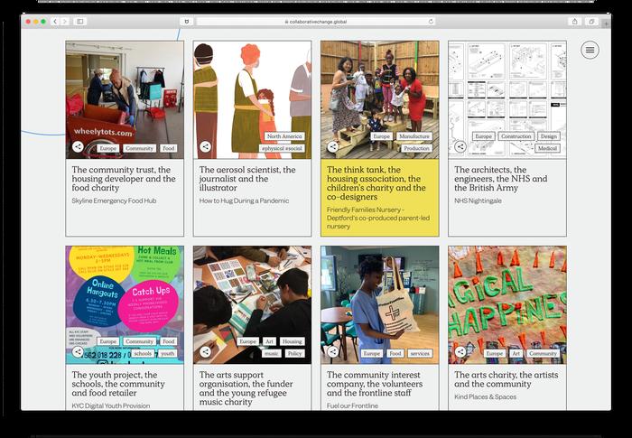 Collaborative Change website 2