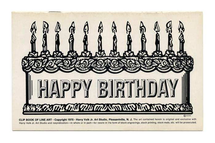 """Happy Birthday"" (No. 190) ft.  (1969)."