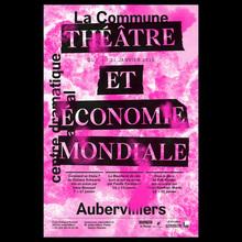 <cite>Théâtre et économie mondiale</cite> poster, La Commune