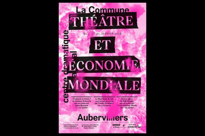 Théâtre et économie mondiale poster, La Commune